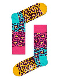 Happy Socks Block Leopard