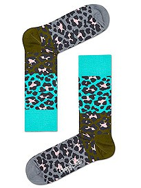 Happy Socks Block Leopard