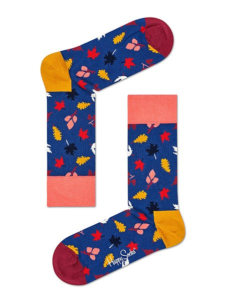 Happy Socks Fall Leaves