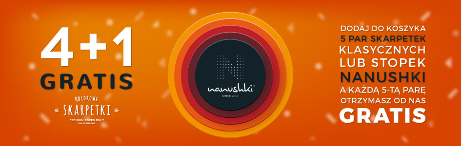 Skarpetki Promocja Nanushki