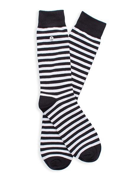 Stripes Black White