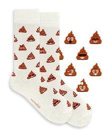Happy Brownie Poo Socks