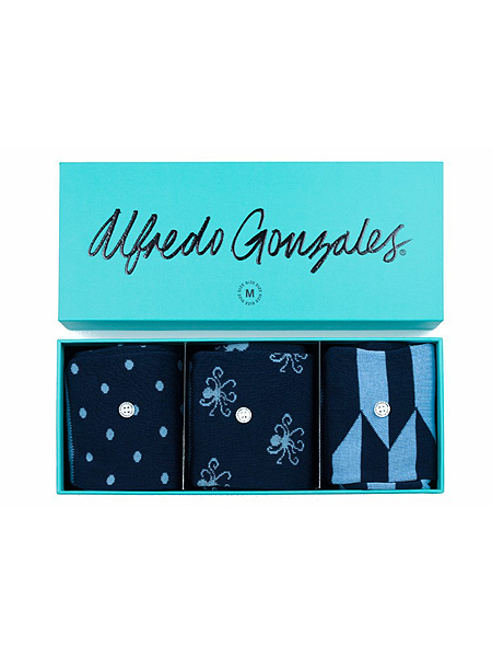Blue 3 pack Giftbox