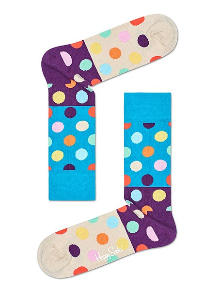 Happy Socks Big Dots Block