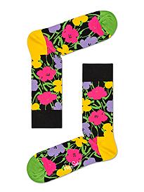 Happy Socks x Andy Warhol Flower