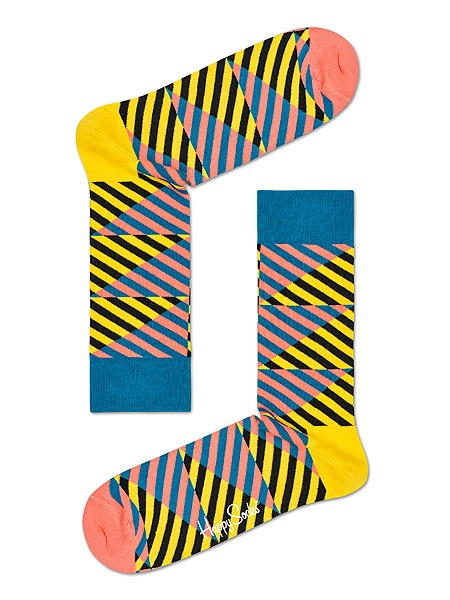 Happy Socks Diagonal Stripe