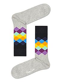 Happy Socks Faded Diamond