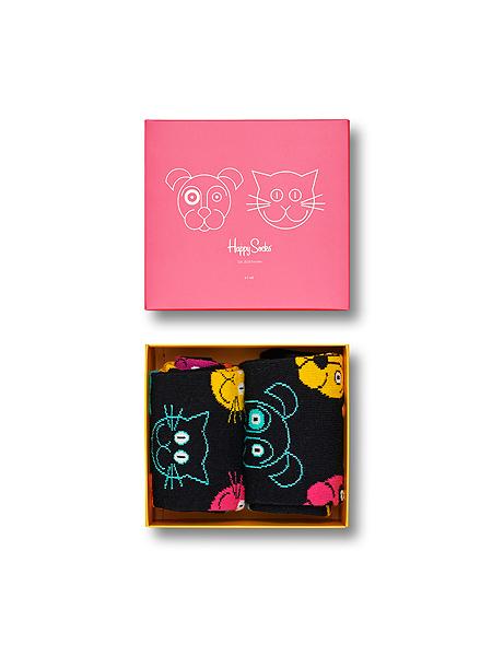 Happy Socks Cat vs. Dog Gift Box