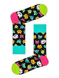Happy Socks Funny Cats