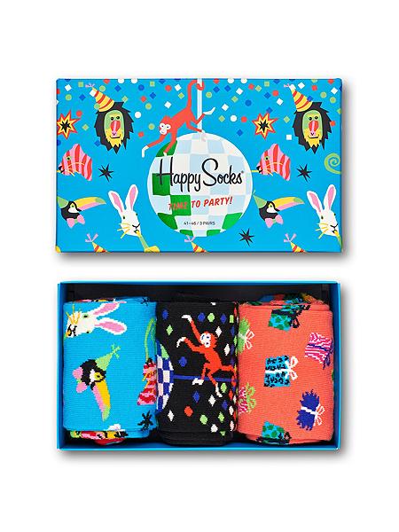 Happy Socks Happy Birthday Party Animal Gift Box