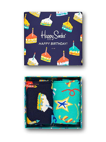 Happy Socks Birthday Cake Gift Box