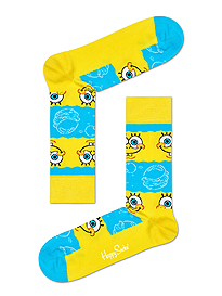 Happy Socks x Sponge Bob Say Cheese Burger