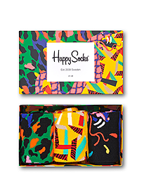 Happy Socks Abstract Animal Gift Box